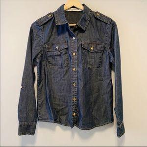 Jones NY Jeans | Denim Long Sleeve Top